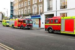 непредвиденный пожар Стоковое фото RF