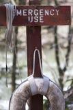 непредвиденный спасательный жилет Стоковая Фотография RF