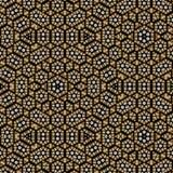 Непрерывная картина в элементах математики для печати иллюстрация вектора