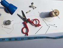 Непредвиденный швейный набор Стоковое Фото
