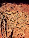 непроизводительная земля Стоковое Изображение
