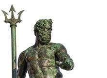Нептун, бог моря стоковая фотография rf