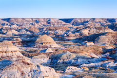 Неплодородные почвы Альберты парка динозавра захолустные Стоковые Фотографии RF