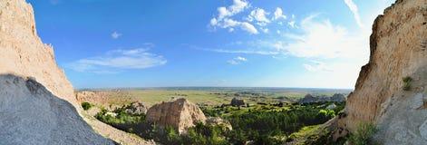 Неплодородные почвы: Взгляд от зазубрины Стоковые Фото