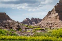 неплодородные почвы Дакота южная Стоковая Фотография RF