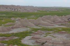 Неплодородные почвы Северная Дакота Стоковые Фотографии RF