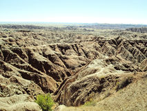 Неплодородные почвы Южной Дакоты Стоковые Фото