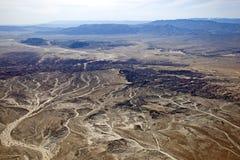 Неплодородные почвы Borrego Стоковые Фото