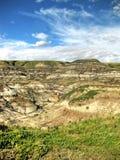 Неплодородные почвы Drumheller Стоковое фото RF