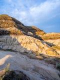 Неплодородные почвы, Drumheller Стоковое Фото