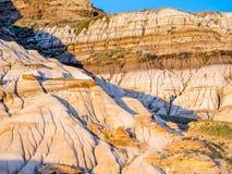 Неплодородные почвы, Drumheller Стоковые Фото