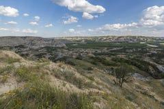 Неплодородные почвы River Valley стоковое изображение