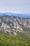 Неплодородные почвы. Tursi. Базиликата. Италия. стоковые фотографии rf