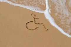 неработающий символ Стоковая Фотография RF