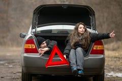 Нервное расстройство автомобиля Стоковые Изображения RF