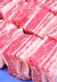 нервюры говядины замыкают накоротко Стоковые Изображения RF