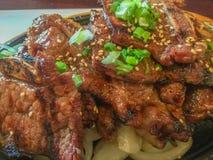 Нервюры BBQ корейского стиля короткие Стоковые Фотографии RF