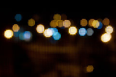 нерезкости через сетку от комаров Стоковое Изображение