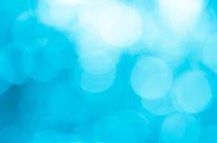 нерезкость абстрактной предпосылки голубая Стоковая Фотография RF