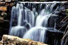 Нерезкость водопада Стоковые Изображения RF