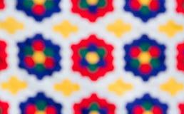 Нерезкость красочной ткани иллюстрация штока