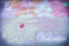 Нерезкость: розовая флористическая картина текстуры картина цветков, валентинка Стоковое Изображение RF