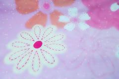 Нерезкость: розовая флористическая картина текстуры картина цветков, валентинка Стоковая Фотография RF