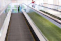 Нерезкость эскалатора Стоковое Изображение RF