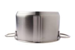 Нержавеющая сталь варя лоток бака изолированный над белой предпосылкой Стоковые Изображения