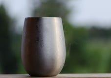Нержавеющая чашка Стоковая Фотография RF