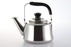Нержавеющий чайник Стоковые Изображения RF