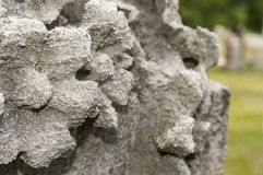 Неровная стена Стоковые Фото