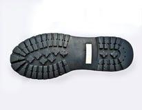 несенная подошва ботинка Стоковое Изображение RF