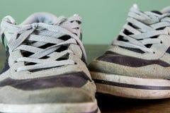 несенные ботинки Стоковое Фото