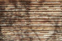 Несенные и размеченные деревянные предкрылки стоковые фотографии rf