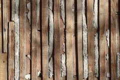 Несенные и размеченные деревянные предкрылки стоковое фото rf