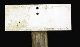 несенный знак Стоковые Фото