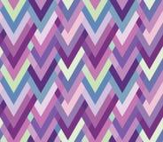 Несимметричная безшовная шевронная инкрустация. Multicolore Стоковые Фотографии RF