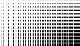 Несимметричная картина отверстия щетки скачками monochrome абстрактный текст иллюстрация вектора