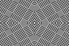 Несимметричная checkered скачками печать зуба гончих с английскими мотивами Стоковое Изображение RF