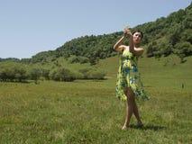 Несите красавицу юбки Стоковая Фотография RF