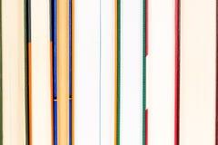 Несколько задних частей серии закрытых книг стоковое изображение rf