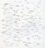 Несколько номеров на белизне Стоковое Изображение RF
