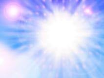 несколько солнец Стоковая Фотография