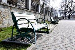 Стенд утюга в парке стоковая фотография