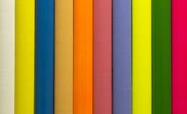 Несколько покрашенных карандашей Стоковые Изображения RF