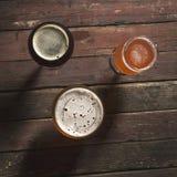 Несколько типов пива Стоковые Изображения RF