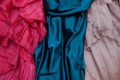 Нескольк платье свадьбы Стоковая Фотография