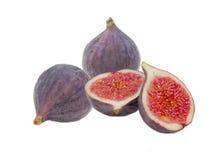 Нескольк свежий плодоовощ смоквы на светлой предпосылке Стоковая Фотография RF