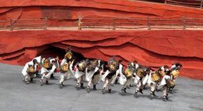 несовершеннолетие yunnan человека стоковые фотографии rf